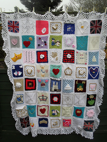 The Royal Wedding Blanket.