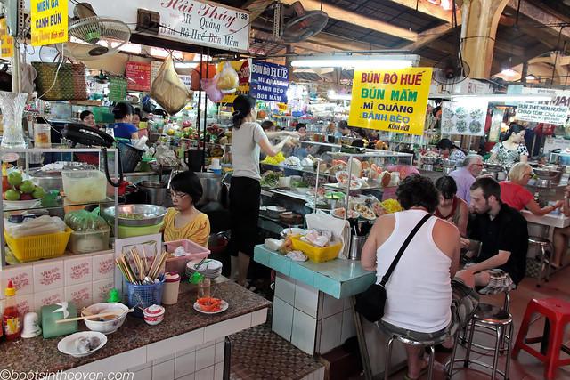 Ben Thanh's food stalls