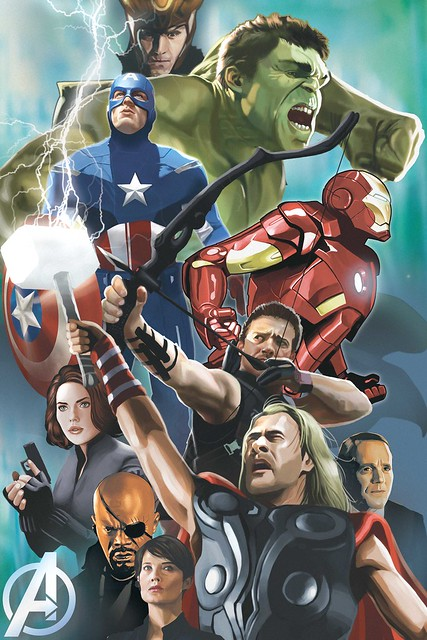 avengers-poster kelvin chan rocketraygun
