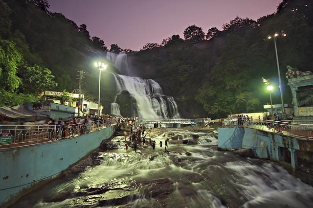 Main Falls, Kutralam, Tamil Nadu, India