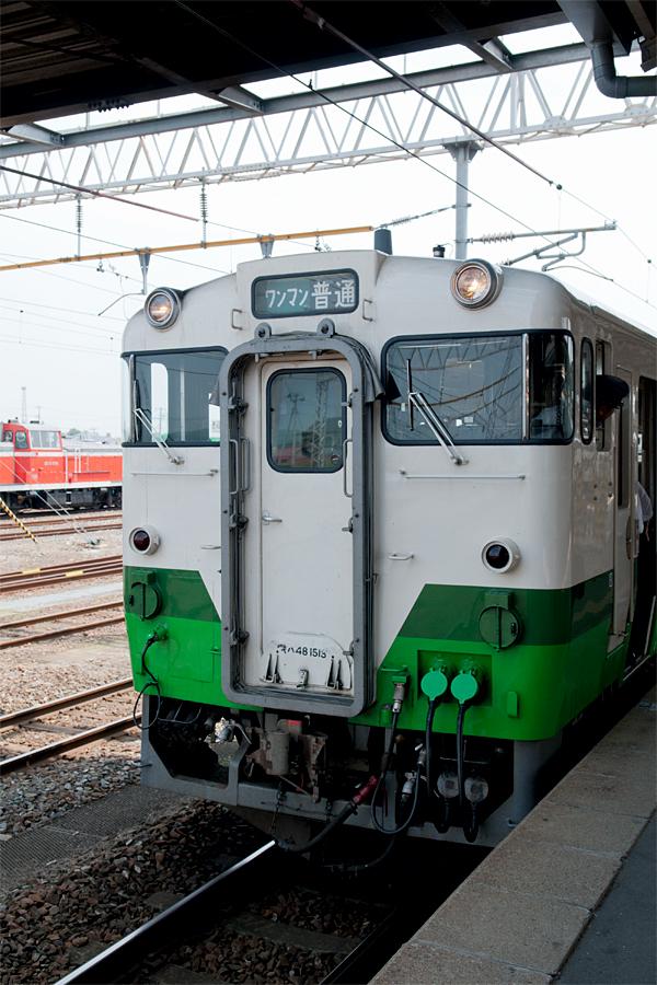 小牛田駅ホーム