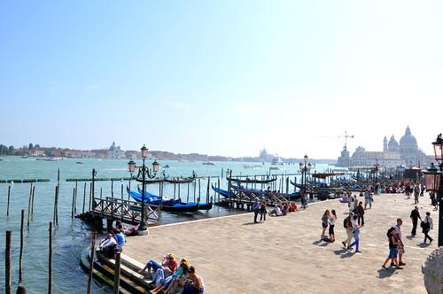 Across Venice's boardwalk