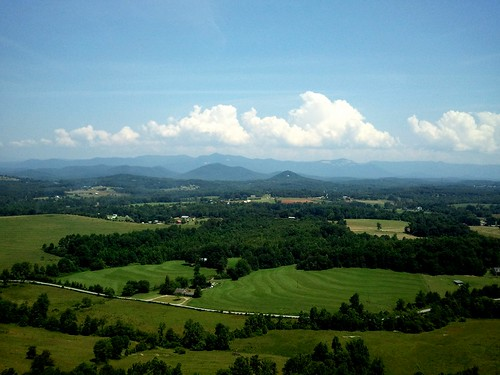 mountains sc scenery view scenic southcarolina aerial glassy pickens