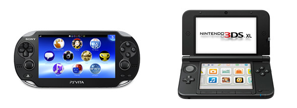 PlayStation Vita vs Nintendo 3DS XL