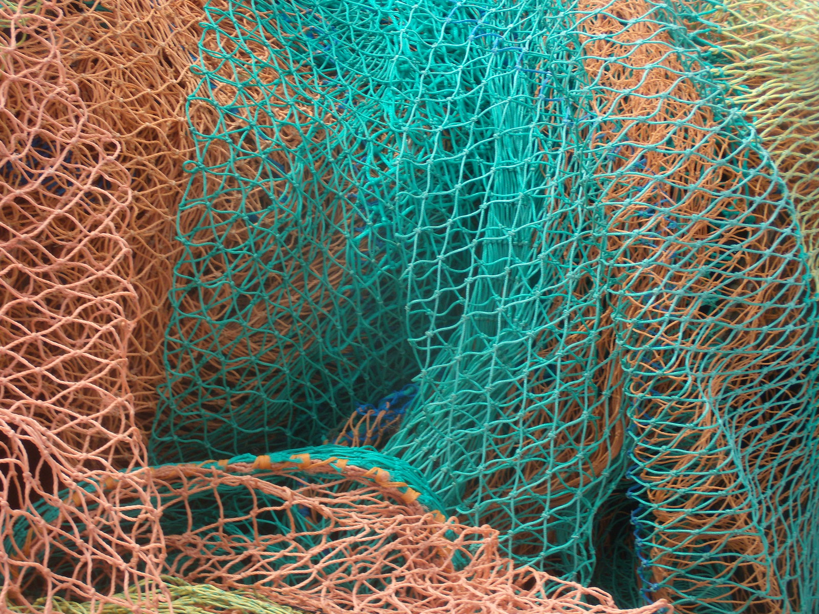 Fishing nets Benfleet to leigh on Sea Leigh Folk festival
