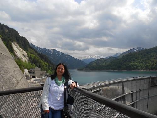 20120607 1407 Kurobe Dam