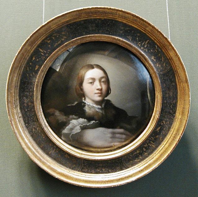 P Parmigianino Self Portrait In A Convex Mirror