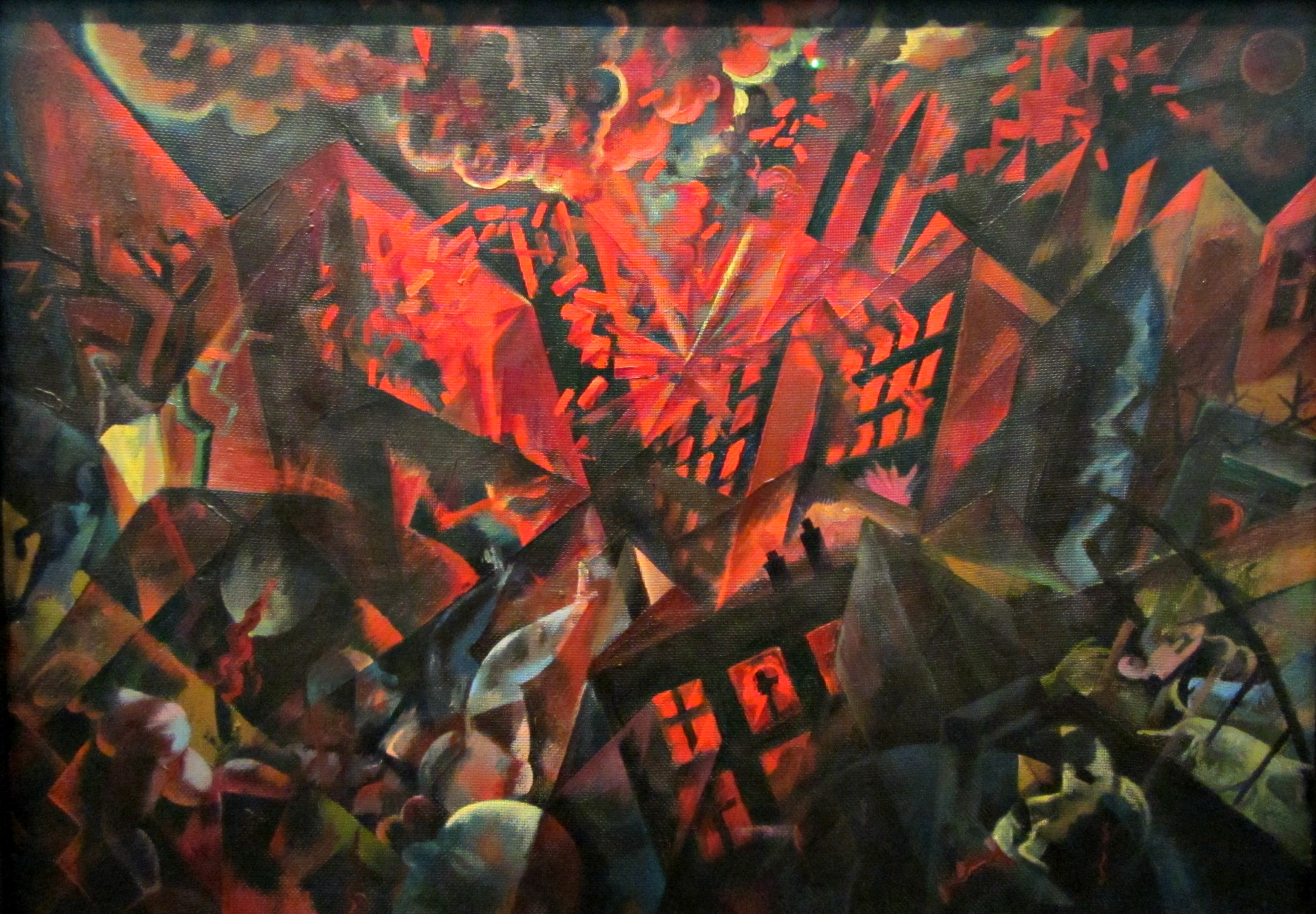 George Grosz 1893 1959 Explosion 1917 The Museum Of