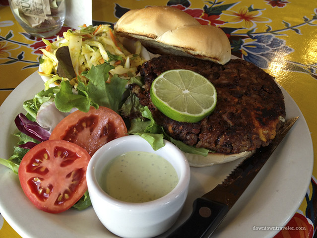 Utah Scenic Byway 12_Burr Trail Grill Veggie Burger