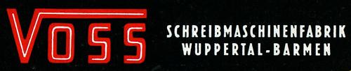 Voss typewriters logo