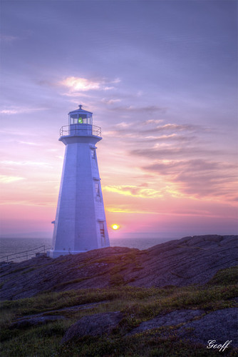 travel light lighthouse house canada tower tourism clouds america sunrise newfoundland point day north cape nl spear easterly impressedbeauty mygearandme