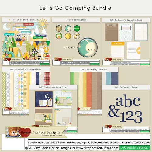 Let's Go Camping Bundle