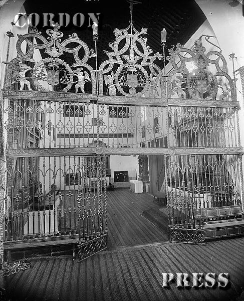 Reja de Juan Francés en el Convento de San Juan de la Penitencia de Toledo hacia 1875-80. © Léon et Lévy / Cordon Press - Roger-Viollet