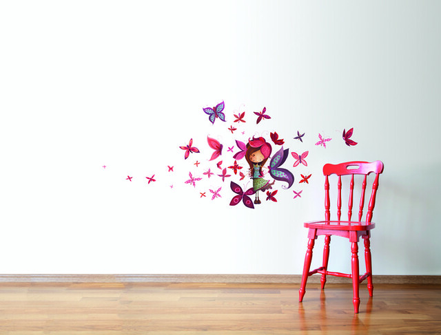 Appliqu mural ketto 39 s wall decor flickr photo sharing for Applique mural
