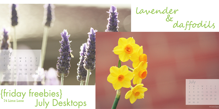 {friday freebies} july desktops
