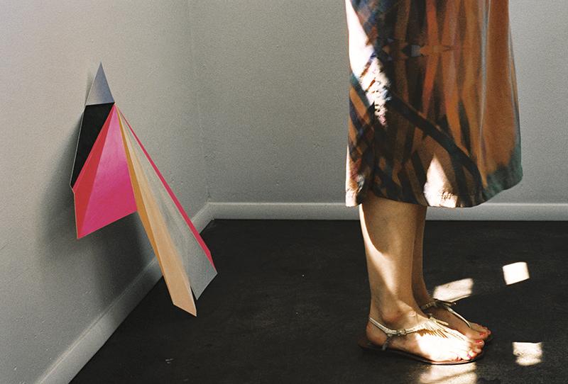 Detail, ERMIE Prism Print Dress