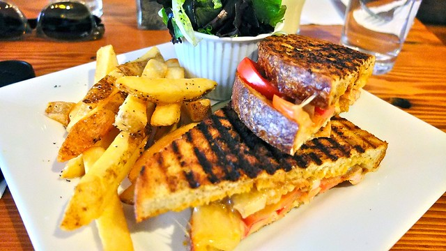 Cajun Chicken Grilled Sandwich | Catch 122 Cafe Bistro