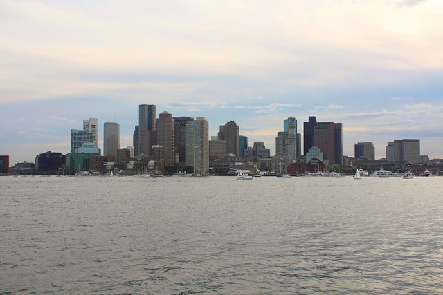 Boston Skyline from Piers Park