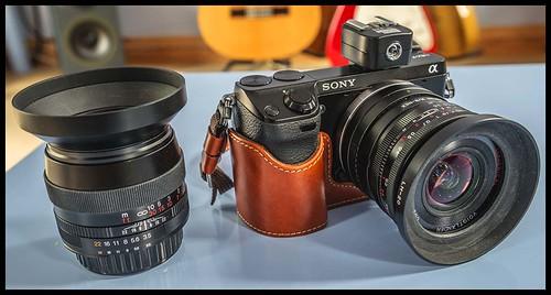 Sony NEX-7 Voigtlander90 mm F3.5 SL II APO-Lanthar Voigtlander 20 mm F3.5 Color Skopar SL II