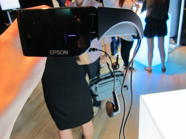 Epson Moverio - Built-in Earphones