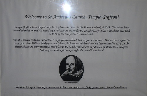 Shakespeare notice