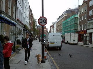Charlotte Street south of Goodge Street 30 mph