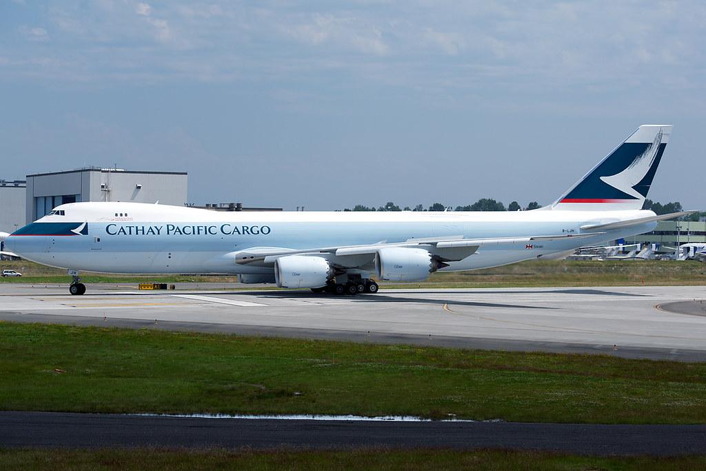 B-LJH - B748 - Cathay Pacific