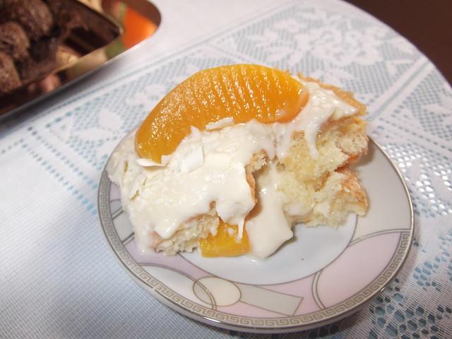Foto bolo de baunilha e pessego - Marta Marina