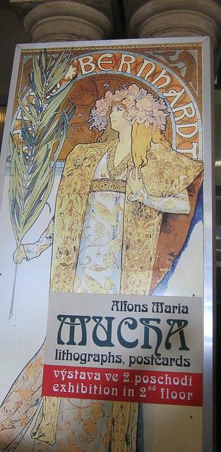 Mucha-exhibition in Prague