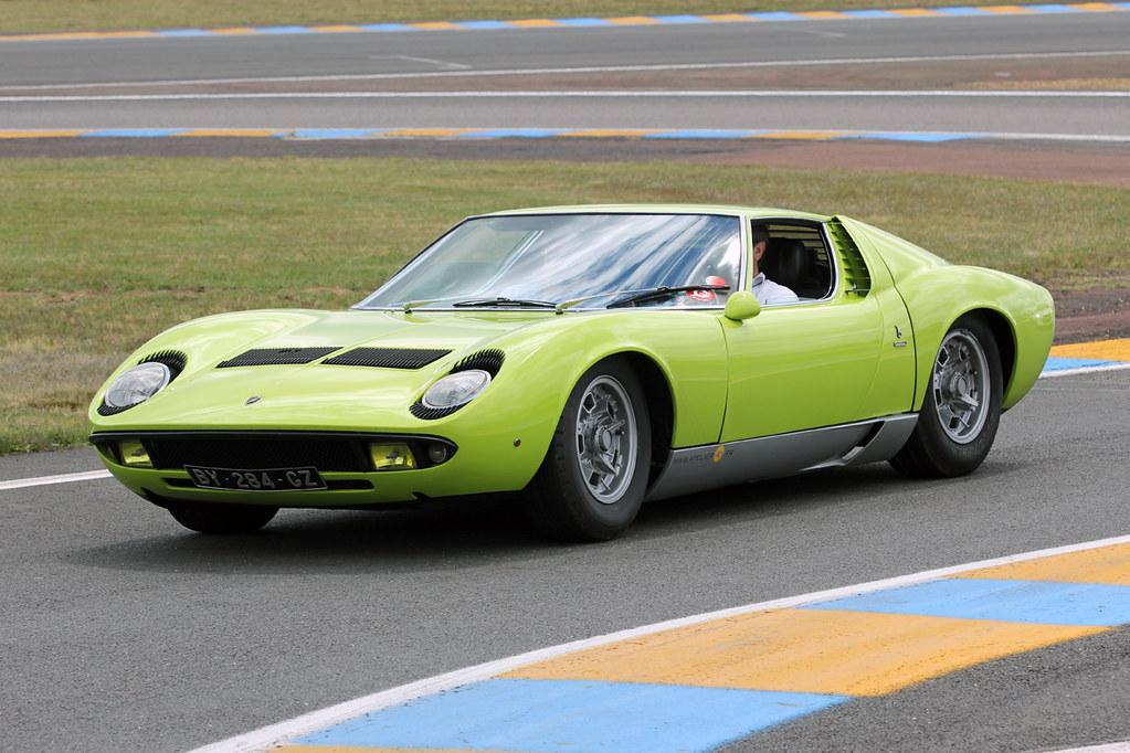 Le Mans Classic 2012 Lamborghini Miura Bigblockagency Flickr