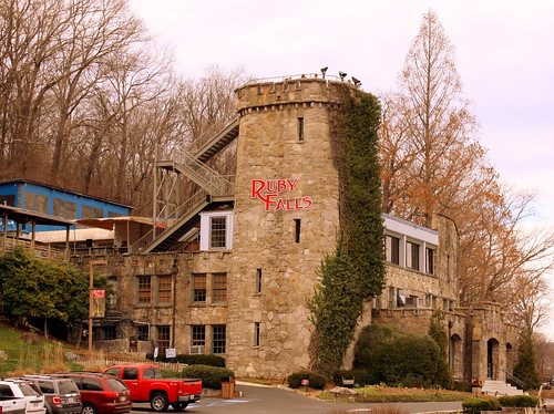 Ruby Falls in the Winter