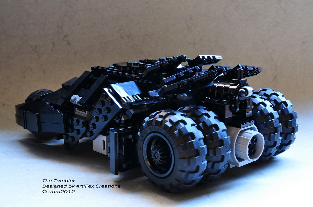lego batman the tumbler a photo on flickriver. Black Bedroom Furniture Sets. Home Design Ideas