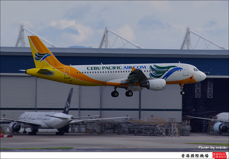 Cebu Pacific Air / RP-C3265 / Hong Kong International Airport