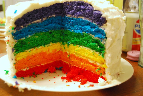 RCP - End-of-year rainbow cake party