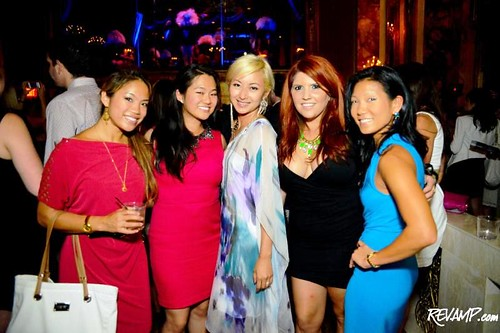 Vivian Ling, Jeanette Lee, Anchyi Wei, me, and Becky Lee