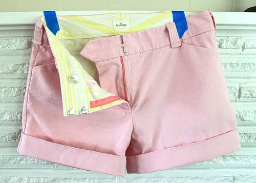 Pink Thurlow Shorts