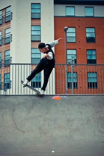 Chris Healey @ High Wycombe Skatepark