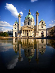 The St. Charles's Church, Vienna