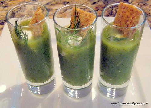 Cucumber Zucchini Soup