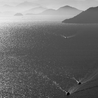 Morning Veils: Seto Inland Sea Tomonoura Hiroshima Japan