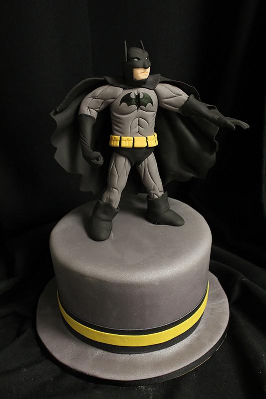 Hand Sculpted Sugar Figurines Oakleaf Cakes Bake Shop - Dark knight birthday cake