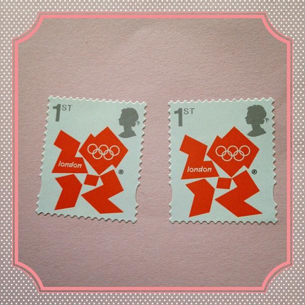 #stamp #england #olympics