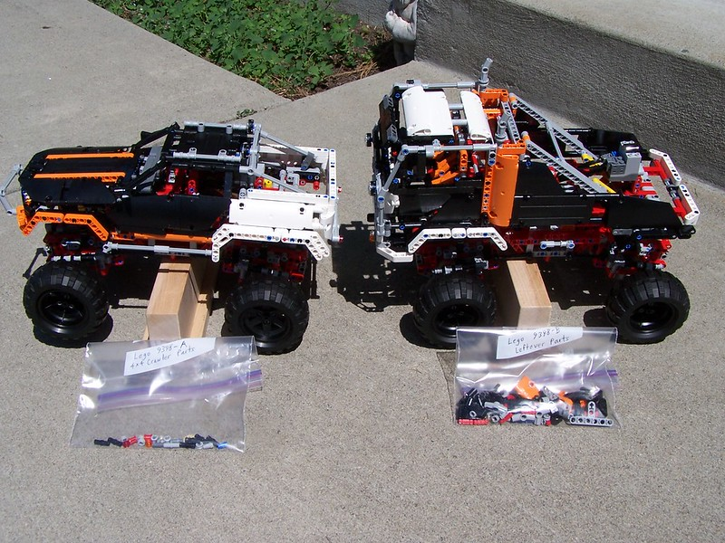 9398 B Alternate Model 4x4 Offroad Cab Over Truck Lego Technic