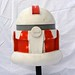 Shock Trooper Helmet Animated Season 4 Star Wars the Clone Wars by mauiview