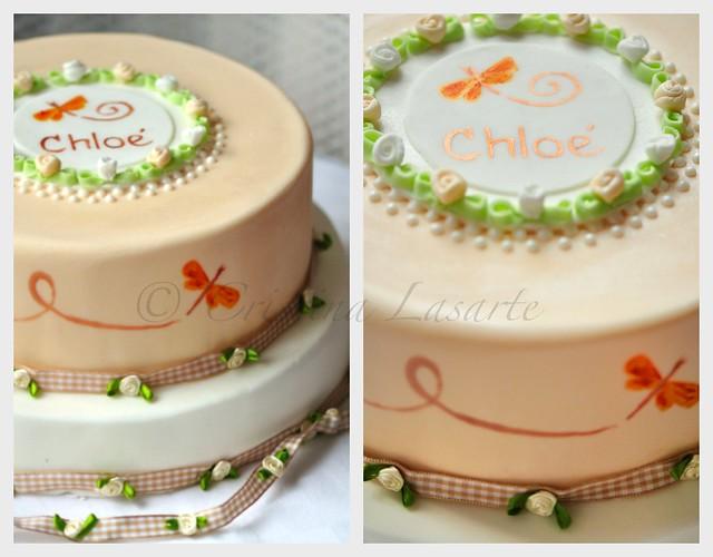 Gâteau de Naissance:Chloé