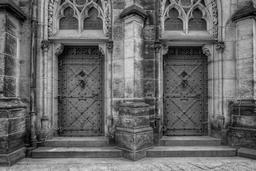 St. Vitus Cathedral Back Doors