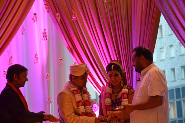 the wedding of Shagun and Gaurav