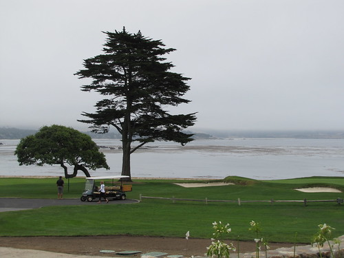 View of the 18th Hole at the Pebble Beach Golf Links