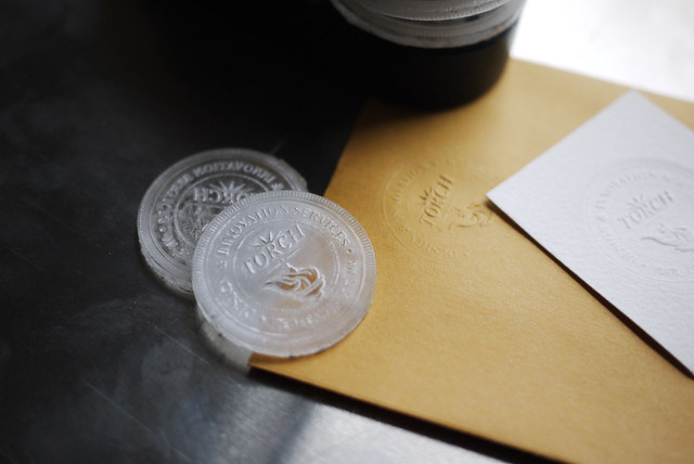 Hand Embossing Seal