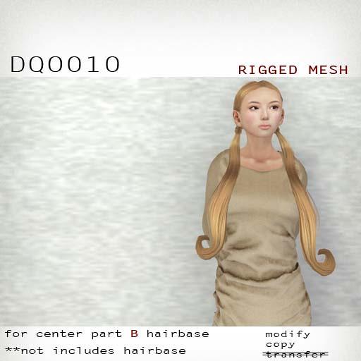 booN DQO010 hair